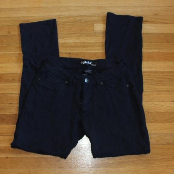 81e789e9b10d09 Poplooks Premium Pants | Black Leggings W Back Pockets | Poshmark